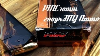 PMC 10mm 200gr FMJ Ammo Overview (HD)