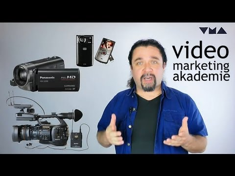 Welcher Camcorder ist der beste? Video-Marketing Teil 2 von 5 - Web-Portale, Videomarketing