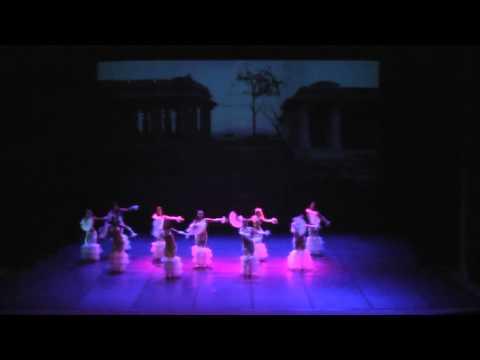 """Belly Dance Fusion """"Oriental Fan Dance"""""""