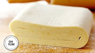 How to Make Puff Pastry Dough
