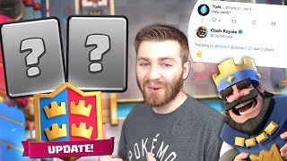 TWO NEW CARDS NEXT UPDATE!? MORE UPDATE NEWS! | Clash Royale | NEW BUFFED CARDS DECKS Y.B.D Ep. 1!