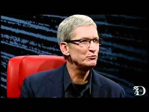 D10 Conference: Tim Cook interview on Steve Jobs