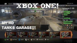 My Garage in HD! | World of Tanks Xbox One Ed. |