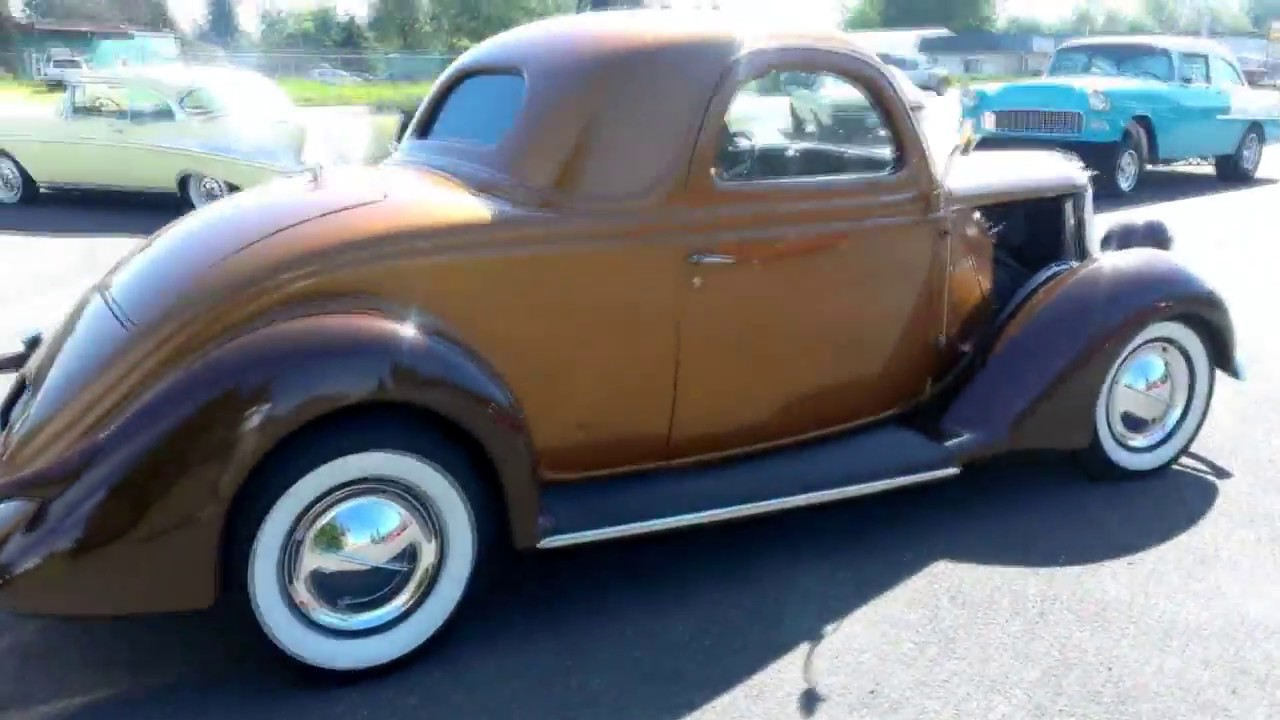 1936 Ford 3 Window Coupe w/ Rumble Seat - YouTube
