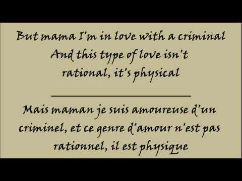 Britney Spears - Criminal - Lyrics - Traduction Français Et Anglais Hq hd video