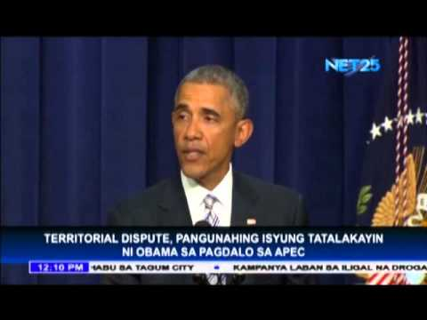 Obama to discuss territorial dispute during APEC