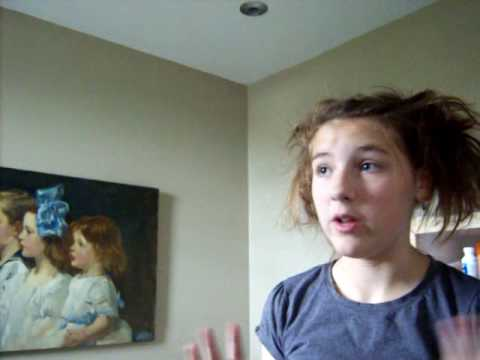 How to do Mrs Lovett's hair - Sweeney Todd Part 3 of 3 Video