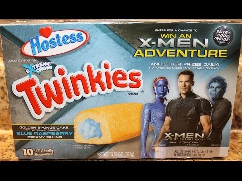 Twinkies: Blue Raspberry Food Review
