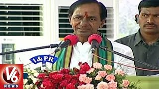CM KCR Fires On Opposition Leaders For Filing Petitions Against Kaleshwaram Project