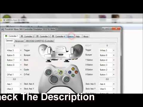 SC Conviction Problem With Xbox 360 controller for pc (fix)