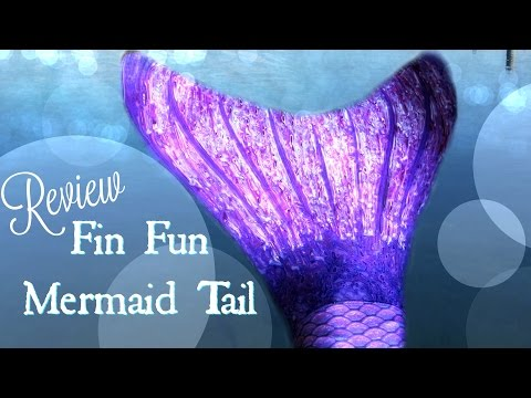Fin Fun Mermaid Tail Review   Fabric Mermaid Tail for Mermaiding   #FinFunMermaids