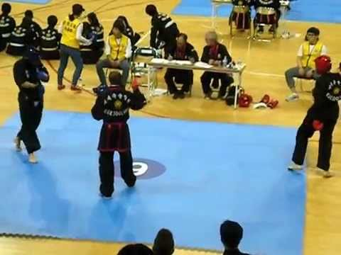 Kuk Sool Won sparring match in Busan, South Korea Image 1