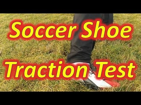 Soccer Shoe Traction Test - Slow Motion