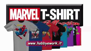 Marvel t-shirt collection