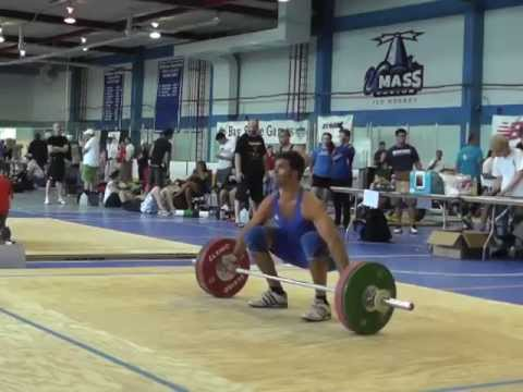 2013 BayState Games - Men's 85kg Snatch Lift Image 1