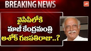 Ashok Gajapathi Raju Joining YSRCP? | Chandrababu | YS Jagan | AP News