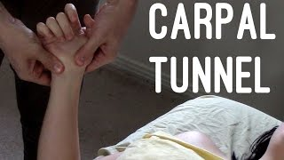 Massage Tutorial: Carpal tunnel syndrome (myofascial release)