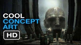 Prometheus - Early Concept Art (2012) Ridley Scott Movie HD