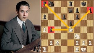 One Does Not Simply Waste A Move Against Capablanca San Sebastian 1911