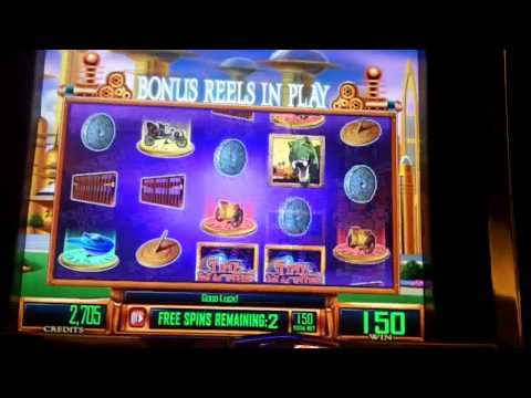 Time Machine Slot Future Bonus - WMS