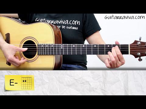 Como tocar MANA Vivir Sin Aire guitarra Tutorial Arpegios acústica y criolla acordes maná
