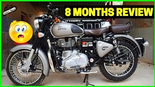 Royal Enfield Gunmetal Grey 08 MONTHS User REVIEW || Fail❌ or Pass✔ (English Subtitle)
