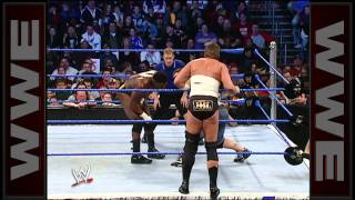 John Cena & Big Show vs. JBL & Orlando Jordan_ SmackDown, February 25, 2005
