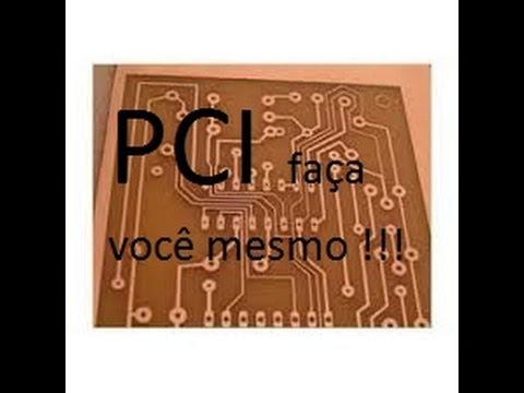Fabricação de PCI caseira - Placa de circuito impresso