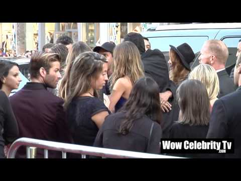 Jessica Alba Arrives to Sin City Hollywood Movie Premiere