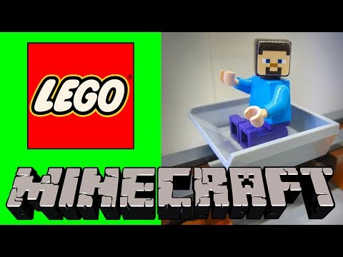LEGO Minecraft - Which Minecart do you like for Steve?