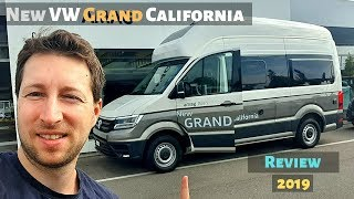 New VW Grand California 2019 Review Interior Exterior