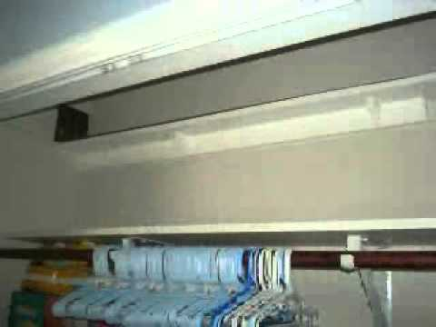 Baby Colin's Shelf Mounted Train Set (Thru closet/thru wall)
