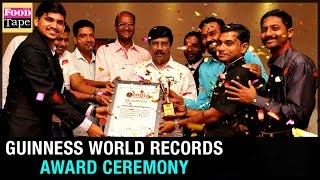 Guinness World Records Award Ceremony of Chef Raj Mohan