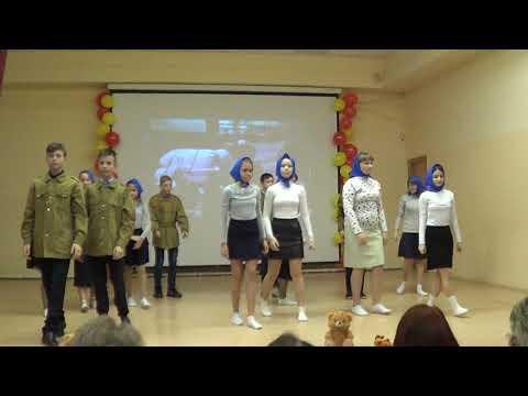 """Конкурс инсценированной песни, 7  """"Г"""" класс МБОУ """"Обоянская СОШ №2"""""""