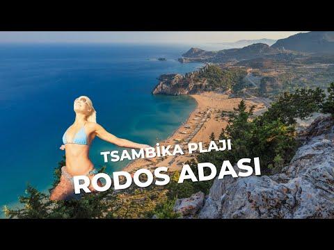 Tsambika Beach | Rodos 2016 | HD | GREECE
