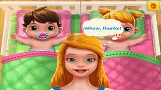 PLAY FUN CARE KIDS GAMES - BABY TWINS BABYSITTER