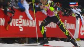 Martin Fourcade. Victory in Oberhof