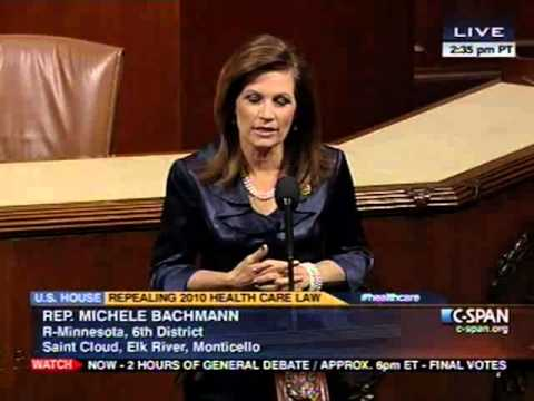 Bachmann: Repeal Obamacare, Replace with Free Market Solutions