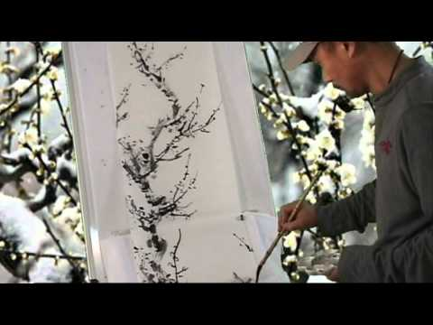 chinese painting brush