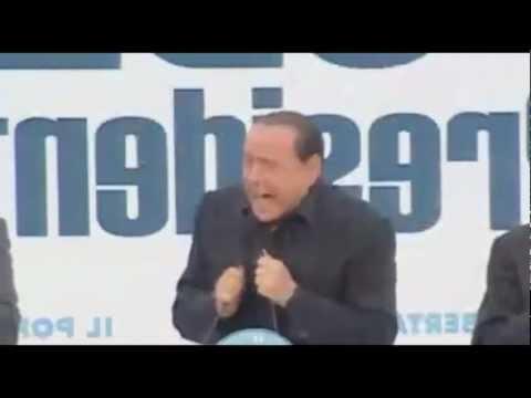 Silvio Berlusconi – Vergogna Comunisti! [10 Minuti]