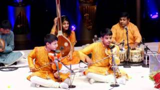 Kartigan and Ramanan Violin Arangetram - Fusion