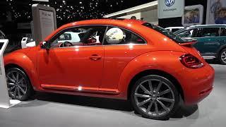 2018 VW Beetle Coupe SE Turbo   2018 NAIAS Detroit 2