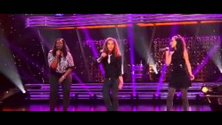 "Jessica Sanchez Deandre Brackensick and Candice Glover ""It Doesnt Matter Anymore"""