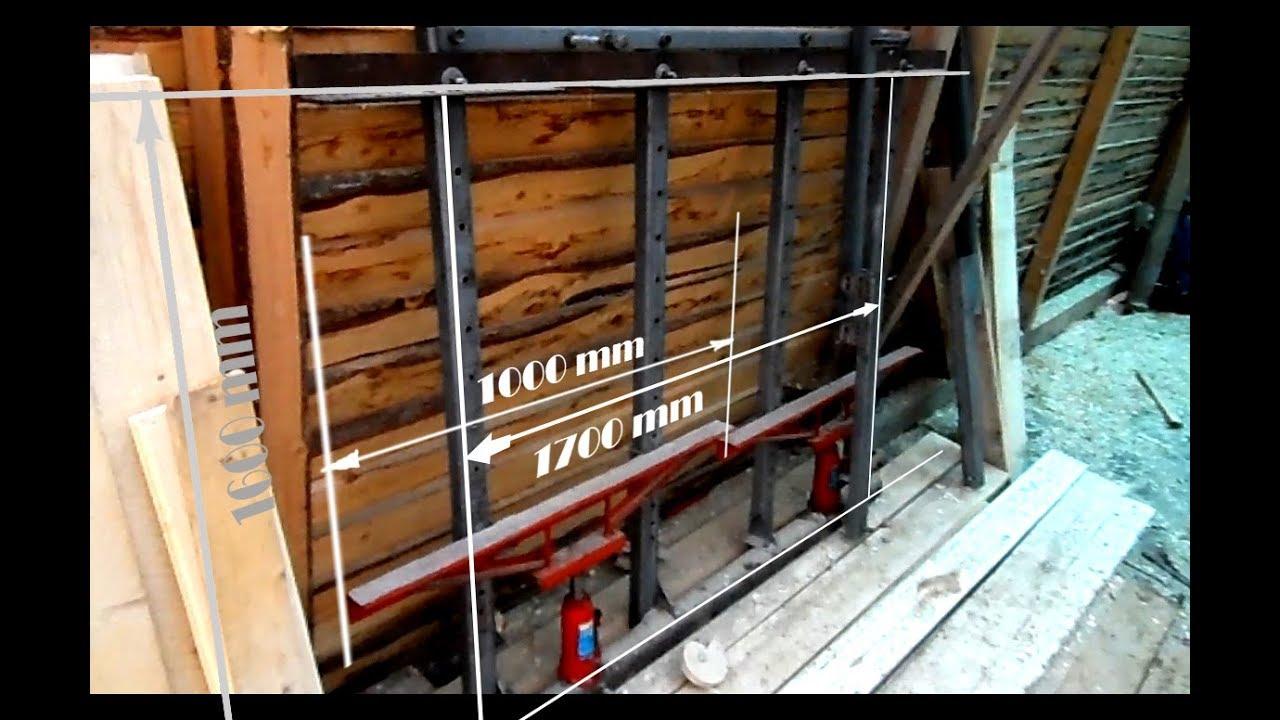 Пресс для склеивания древесины своими руками 79