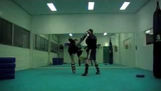 005-kyokushin kicking combination