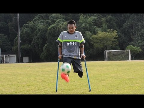 W杯出場の夢へ走る 「アンプティサッカー」九州の強豪