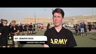 Soldiers Celebrate 111th Army Reserve Birthday in Kuwait