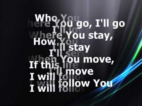 Chris Tomlin - I Will Follow [with Lyrics] video