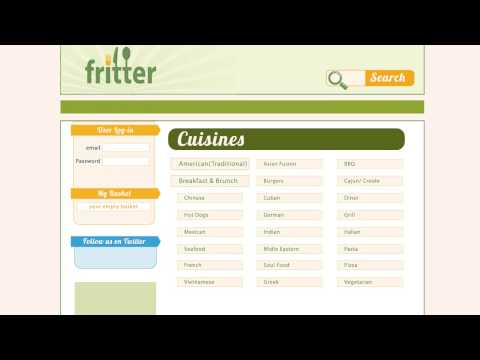 Fritter.co Online Ordering and Restaurant Delivery
