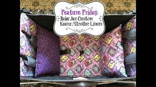 Feature Friday: Baby Jaz Custom Keenz/Stroller Liners